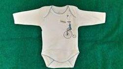 Бодик Боди белый для новорожденного