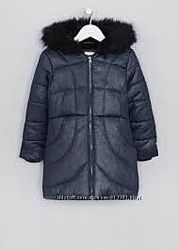 Зимняя куртка-пальто Matalan, 110-116 рост
