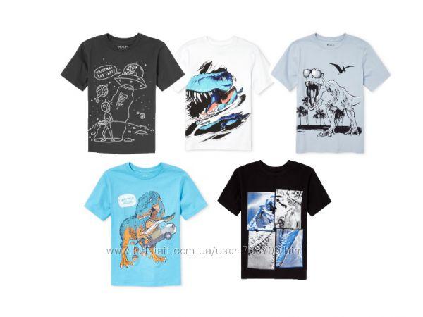фирменные футболки с принтом Children&rsquos place США