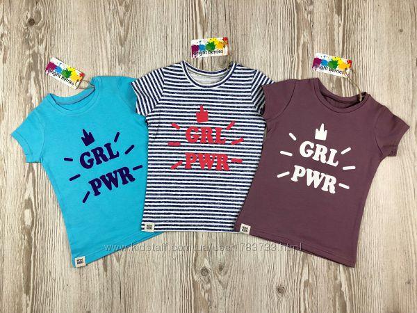 Мега стильные футболки для девочек от Bright Berries