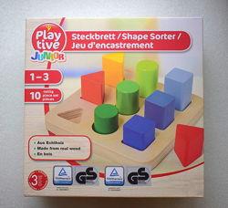 Развивающая игрушка сортер Play tive 1-3 года Германия