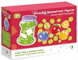 Настольная игра DoDo Изучаем геометрические фигуры