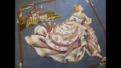 Схемы Mirabilia, схема Мирабилия, вышивка, Золушка, русалки, королева, фея