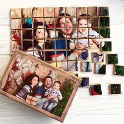 Подарочный шоколадный набор с вашими фото на 63 шоколадки под заказ