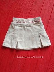 Велюровая юбочка для девочки 86 см.