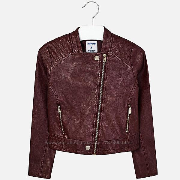 Курточки - косухи Mayoral розм. 8 128 см