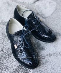 Стильные нарядные туфли мальчик девочка в наличии