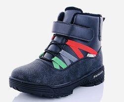 Детские зимние ботинки на мальчика в наличии