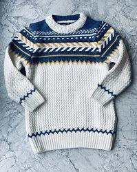 Детский нарядный свитер на мальчика в наличии