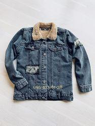 Детская джинсовая куртка пиджак на мальчика в наличии