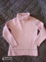 Нежный свитерок в рубчик George 4-5 л