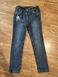 Утеплённые джинсики C&A Германия, 122 р.