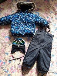 Полукомбинезон и куртка Ленне зима для мальчика Lenne