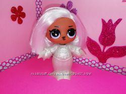 Кукла LOL Оригинал серия Hairgoals милая ведьмочка Witchay Babay Mga в скаф