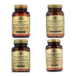 Витамин D3 холекальциферол Солгар, Solgar