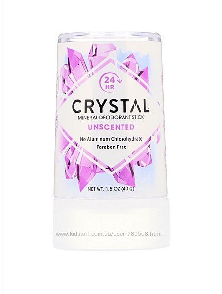Дезодорант Кристалл Crystal, без запаха, 40 г