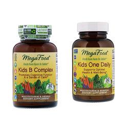 Mega Food  Натуральные  детские витамины и витамины В 30