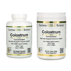 Колострум, Colostrum California Gold 240 капсул