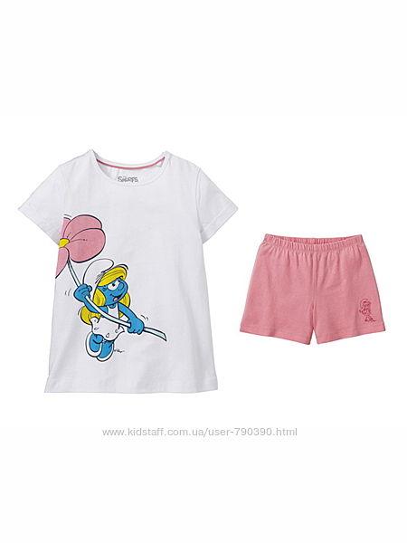 Летняя пижама для девочки 98/104