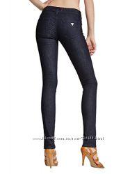 Guess оригинал синие узкие джинсы скинни средняя посадка бренд из сша