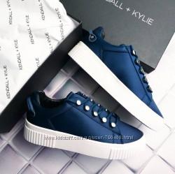 Kendall  kylie оригинал синие кеды р38 на платформе