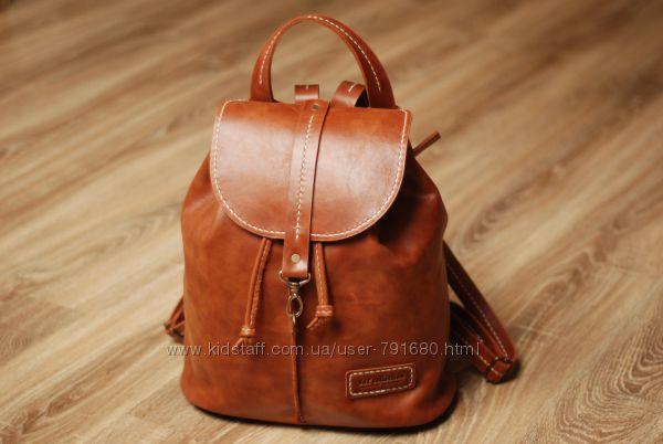 Рюкзак женский кожаный GLITTER
