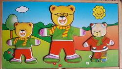 Игра одень медведя