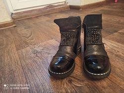 Кожаные ботинки Турция Pafi