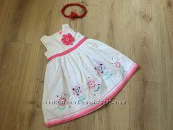 Платье на 9-12 мес, 80 см