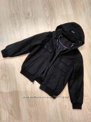Весенняя деми куртка на мальчика рост 152-158 смотрите замеры