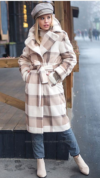 Шикарные Зимние Пальто --Шуба Mirella Moda
