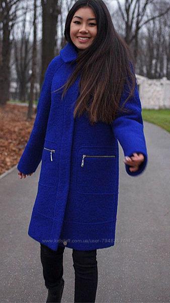 Шикарное Зимнее Пальто Шерсть Италия
