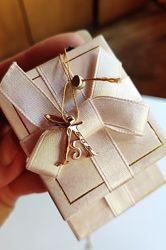 Золотая подвеска буква А