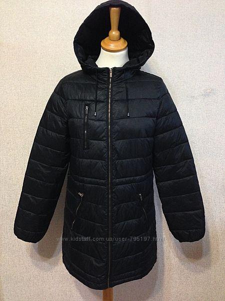 Куртка демисезонная Colin&acutes жен. удлиненная с капюшоном, р. S-M