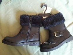 Новые черные сапоги H&M 29 р-ра 18 см
