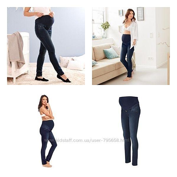 Джинсы брюки для беременных Tchibo S 36 38 М 40 М 42 евро Германия