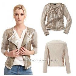 Пиджак куртка с пайетками Tchibo ХS 34 36 38 L 46 Германия