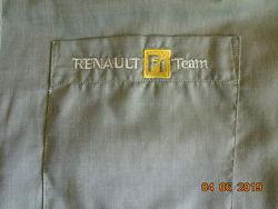Фирменная стильная рубашка тенниска от команды Формулы 1 размер L- XL
