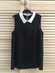 Блузка topshop деловой стиль рубашка