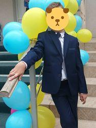 костюм школьный классика 128 -134
