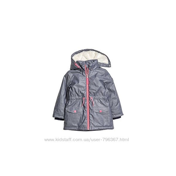 куртка- парка демисезон hm.5-6 лет
