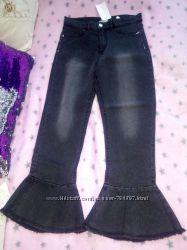 Модные в этом сезоне джинсы от H&M на рост 152 см, 11-12 лет. Италия