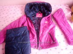 3в1 Пальто  куртка  безрукавка на девочку 9-11 лет