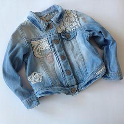джинсовые пиджаки куртки девочкам