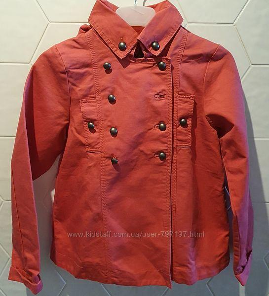 Новая брендовая курточка-пальтишко, котон