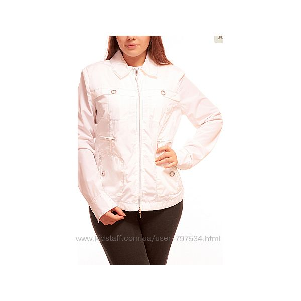 Белая куртка Geox