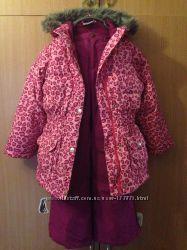 Комплект куртка HANNA ANDERSSON штаны LANDSEND на 6-7 лет