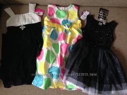 Новые праздничные платья на 6-7 лет