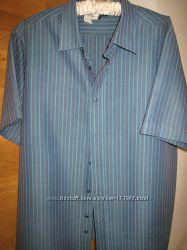 Легкая летняя рубашка George XL
