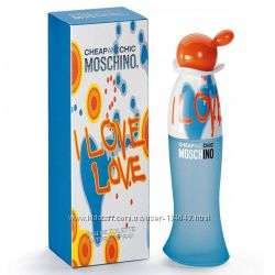 MOSCHINO Cheap and Chic I Love Love edt100 мл - лицензия отличного качества